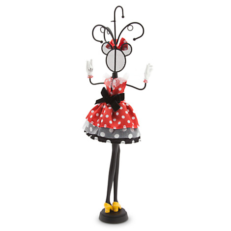 Your wdw store disney jewelry holder minnie mouse jewelry stand add to wish list aloadofball Image collections