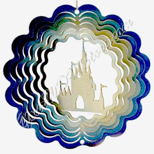 Disney Eycatcher Spinner Flower Amp Garden Festival 6 Quot Castle
