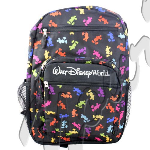 4de49acddc11 Disney Backpack Bag - Mickey Mouse Bright Silhouettes