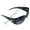 Disney Arribas Sunglasses - Mickey Rainbow Crystal Icons - Black