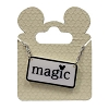 Disney Necklace - Black and White Mickey Icon - Magic