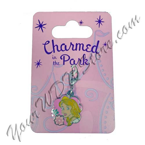 Disney Dangle Charm - Charmed In The Park - Aurora Flower