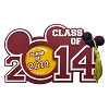 Disney Magnet Photo Frame - Class of 2014