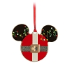 Disney Disc Ornament - Mickey Icon - Santa Mickey Lights