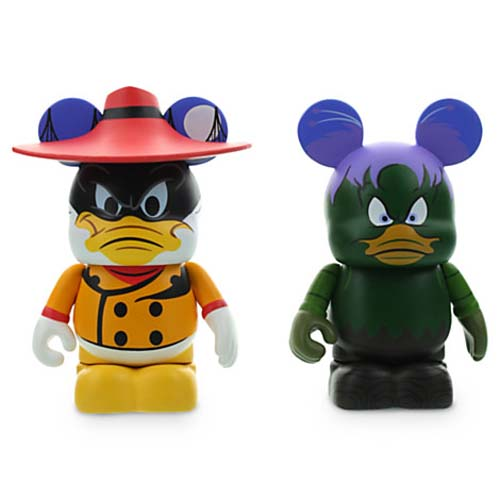 Disney vinylmation Set - Disney Afternoon 2 - Negaduck and Bushroot