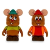 Disney Vinylmation Set - Animation 4 - Gus and Jacques