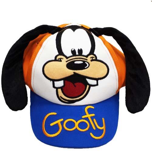 Disney Hat Baseball Cap Goofy Ears Signature Cover