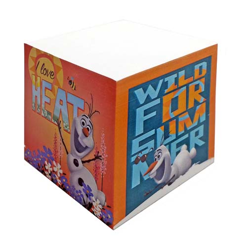 Disney Sticky Notes - Frozen Olaf Cube Wild for Summer