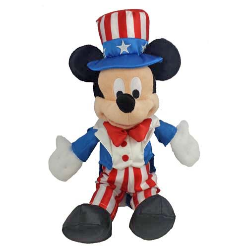 "Disney Plush - Americana Mickey Mouse - 9"""