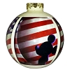 Disney Ball Ornament - 4th of July Independence Day Flag