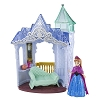 Disney Figurine Set - Frozen Flip and Switch Castle - Anna