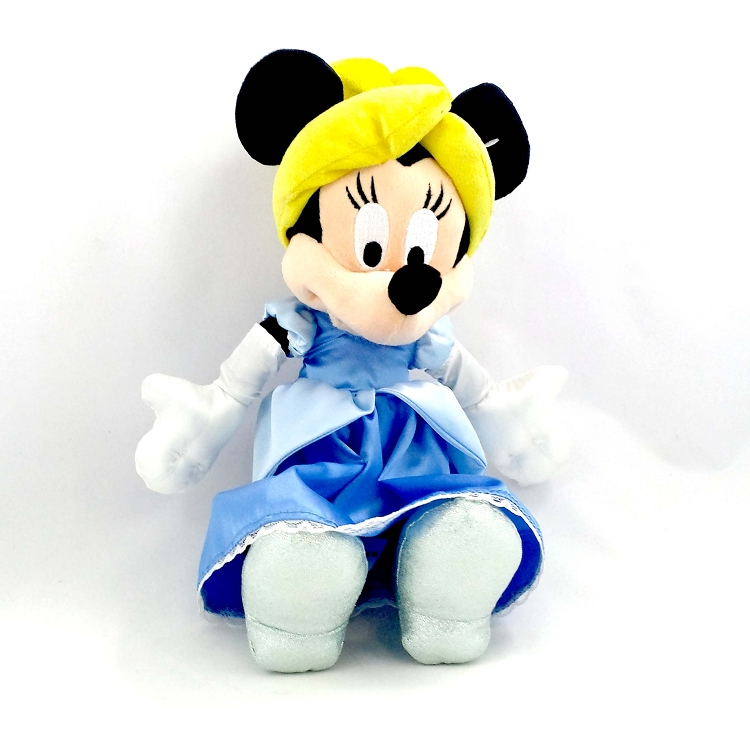 Your Wdw Store Disney Plush Minnie Mouse As Cinderella