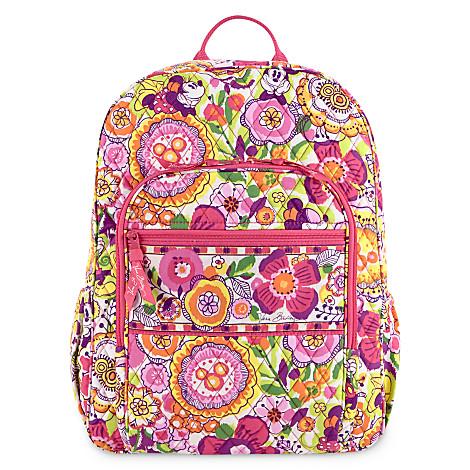 Disney Vera Bradley Bag Bouncing Bouquet Pink Backpack