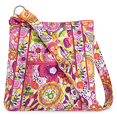 Sling it over your shoulder, or carry it in your hand--however you choose to don this stylish Vera Bradley Carson shoulder bag, it offers a fabulous combination of style and storage.