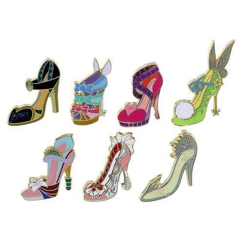 Disney Mini Pin Set Disney Divas Shoes Mini Pin Set