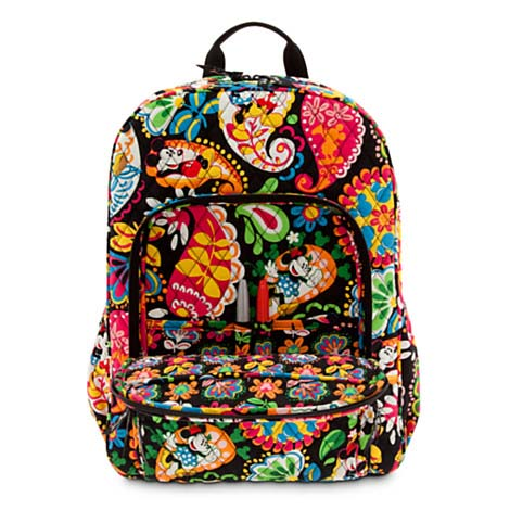 Disney Vera Bradley Bag - Midnight with Mickey - Campus Backpack 992f7894073d5
