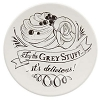 Disney Dessert Plate - Chalkboard - Be Our Guest 7'' White