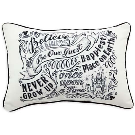 disney throw pillow chalkboard be our guest pillow