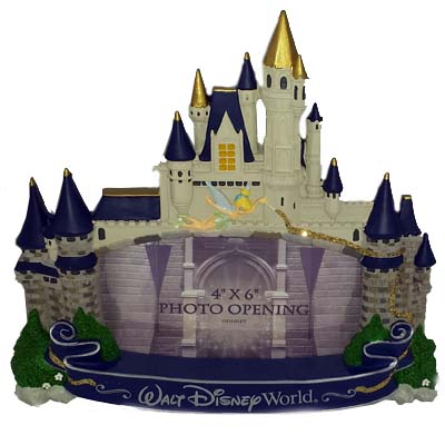 Your Wdw Store Disney Picture Frame Cinderella Castle