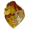 Disney Lion King Pin - Mufasa Simba and Sarabi