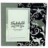 SeaWorld Picture Frame - Glass Mirror and Glitter - Orca
