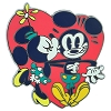 Disney Minnie Mouse Pin - Mickey & Minnie Mouse Kiss