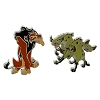 Disney Pin Set - The Lion King - Scar and Hyenas