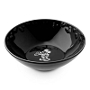 Disney Bowl - Gourmet Mickey Mouse Icon - Black with White