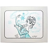 Disney Artist Sketch - Frozen - Elsa - Close-Up in Winter Gown with Snowflakes