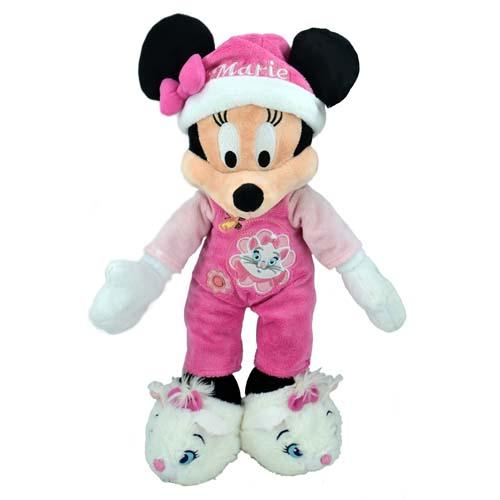 Disney Plush Goodnight Minnie Mouse Plush 12 Marie