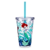 Disney Tumbler with Straw - Ariel and Sebastian
