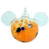 Disney Ornament - Reinhard Herzog - Mickey Ears - Orange - Small