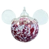 Disney Ornament - Reinhard Herzog - Mickey Ears - Rose - Large