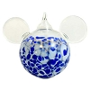 Disney Ornament - Reinhard Herzog - Mickey Ears - Blue - Large