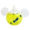 Disney Ornament - Reinhard Herzog - Mickey Ears - Yellow - Large