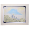 Disney Artist Print - Rosemary Begley - Enchanted Castle in the Clouds
