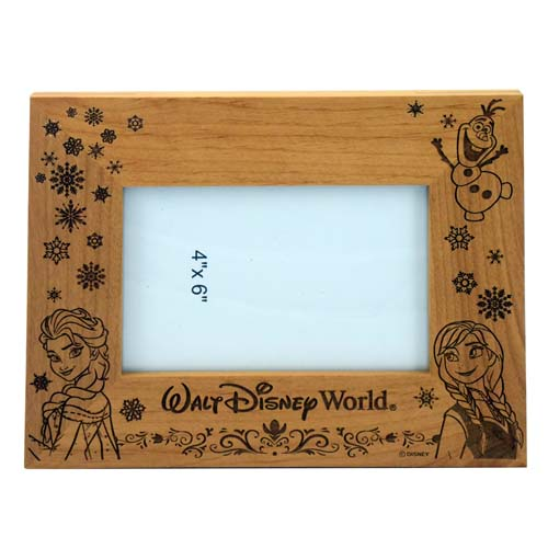 Your WDW Store - Disney Picture Frame - FROZEN - Anna Elsa and Olaf