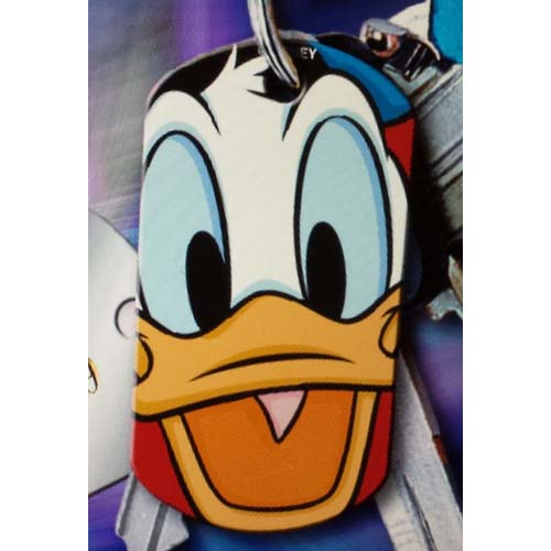 Disney Engraved ID Tag - Donald Duck Face