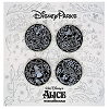 Disney 4 Pin Booster Set - Chalkboard - Alice Sketch Booster Set