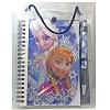 Disney Keepsake Journal Book & Pen - Frozen - Anna Elsa Faces