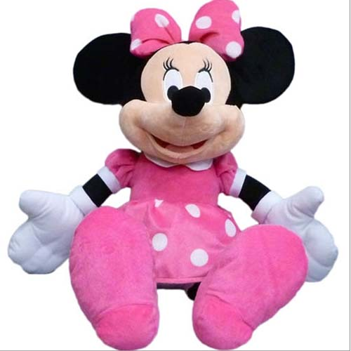 Disney Plush Huge 25 Inch Minnie Mouse Giant Stuffed Animal