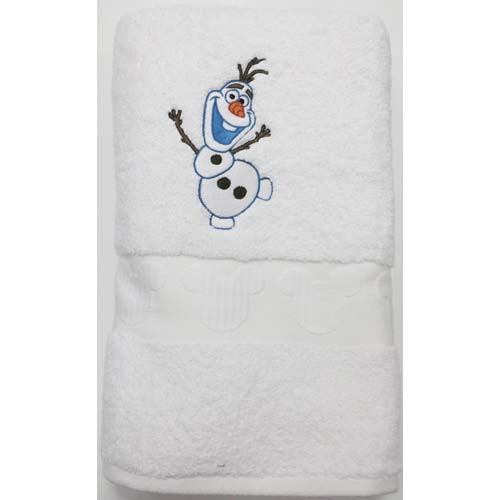 Disney Bath Towel Frozen Olaf The Snowman