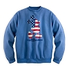 Disney Adult Sweatshirt - Mickey Mouse Americana