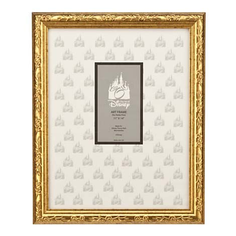 Disney Print Frame - Mickey Mouse Gold Frame - 11\'\' x 14\'\'