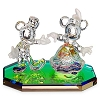 Disney Arribas Figurine - Dancing Mickey and Minnie Mouse