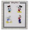 Disney 4 Pin Booster Set - Classic Mickey and Friends Characters
