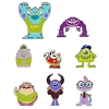 Disney Mystery Pins - Monster University - Complete