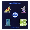 Disney Monsters Inc Pin Set - Sayings & Quotes