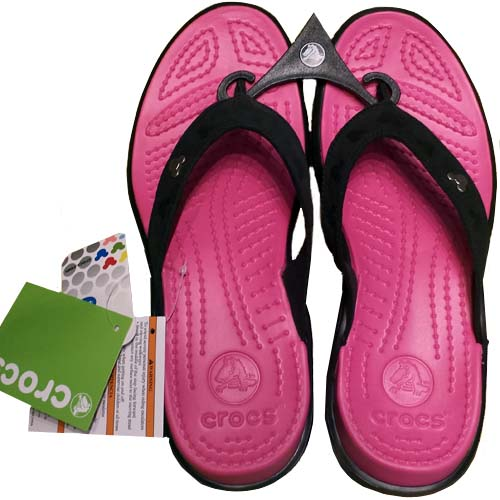 8fbb60bedc4cbd Add to My Lists. Disney Womens Crocs Shoes - Mickey Mouse Pink Capri Flip  Flops