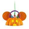 Disney Ears Ornament - Mickey Mouse Halloween Candy Pumpkin - Light-Up